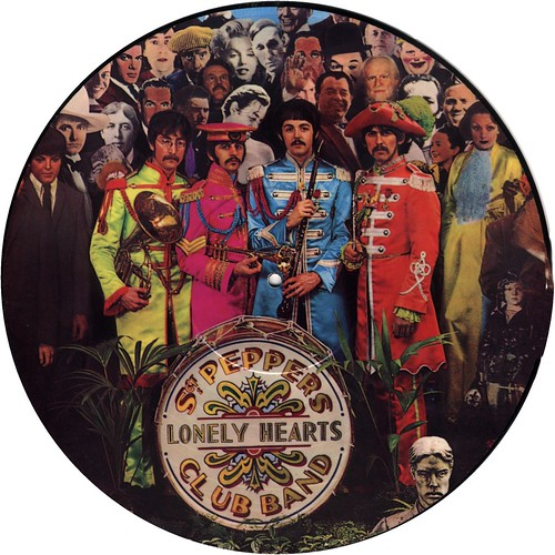 8 Beatles The Pic Disc Sgt Pepper Us 1978