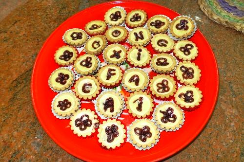 'Gong Xi Fa Cai' cheese tarts