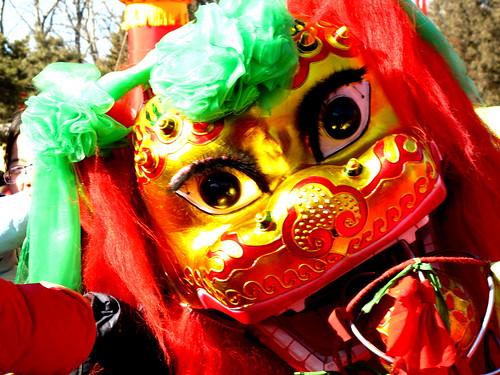 舞狮(lion dance)