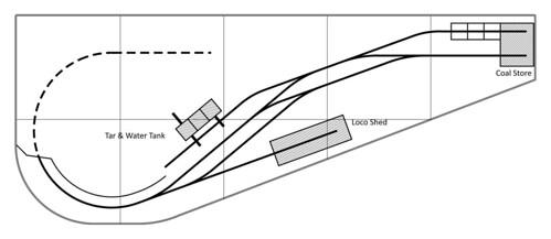 Harrogate Gasworks plan