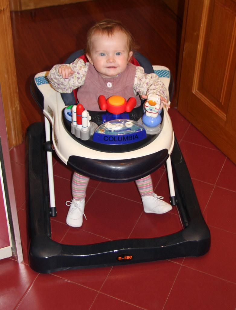Nora in Space Shuttle walker