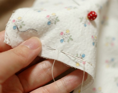 How to make a square bib 2