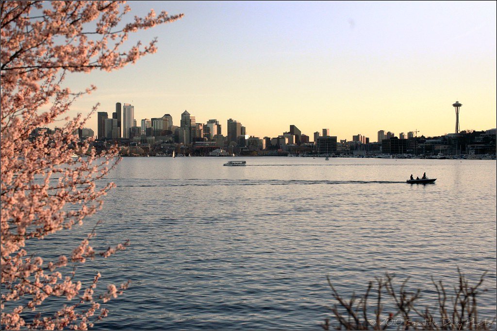Mid February, Lake Union