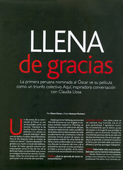"""Claudia Llosa en """"Caras"""" (pt. 1)"""