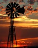 """sunset silhouette - explore (Marvin Bredel) Tags: sunset sky oklahoma windmill silhouette clouds rural bravo explore cropped marvin canoneosdigitalrebelxt oldfashioned windpower 2010 topaz february20 kingfishercounty i500 marvin908 """"silhouetteaward"""" bredel marvinbredel"""