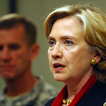 Secretary Clinton Travels to Afghanistan