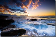 We Can Build A New Tomorrow, Today (Matthew Stewart | Photographer) Tags: sea water rocks waves australia qld queensland splash kingsbeach