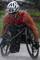 Kevin-pushes-through-pounding-rain-USA-Tour (KevinSaunders7) Tags: sports president explosion possible chairman obama nominees paralympics nominee motivationalspeaker paralympian nominated rolemodel kevinsaunders wheelchairathlete overcomingadversity businessspeaker schoolspeaker corporatespeaker christianspeaker motivationalcoach presidentsfitnesscouncil yeasyoucan wheelchairspeaker associationsspeaker inspirationalathlete famousdisabledathlete safetyspeaker corporatesafetyspeaker worldchampionwheelchairathlete fitnesscouncil chairmanoffitnesscouncil possiblenominees choicesforpresident considerationsforchairman presidentscouncilonphysicalfitnesssports presidentsselectionsforfitnesscouncil obamasfitnesscouncil