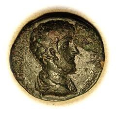 Lucius Verus (Bahrfeldt) Tags: century greek coin ancient roman ad second imperial balkans provincial