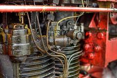 Old Steam Train Valve - Esslingen, Germany (farbspiel) Tags: photography nikon engine grease nikkor 18200 hdr highdynamicrange steamtrain d90 tonemapped tonemapping nikon18200vr nikond90 detailenhancer klausherrmann