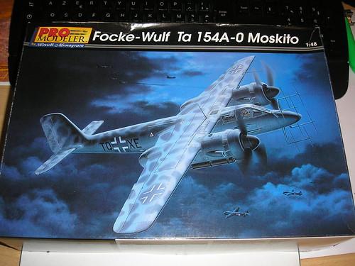 Revell-Monogram Focke-Wulf TA154A-0 Moskito 4390383215_e86e34387f_d