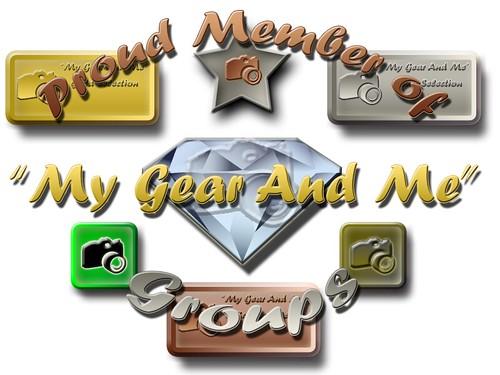 My Gear And Me - Member Badge
