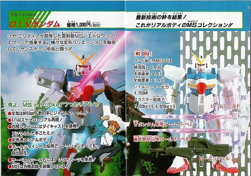 Bandai MS in Pocket - Catalog Page 3