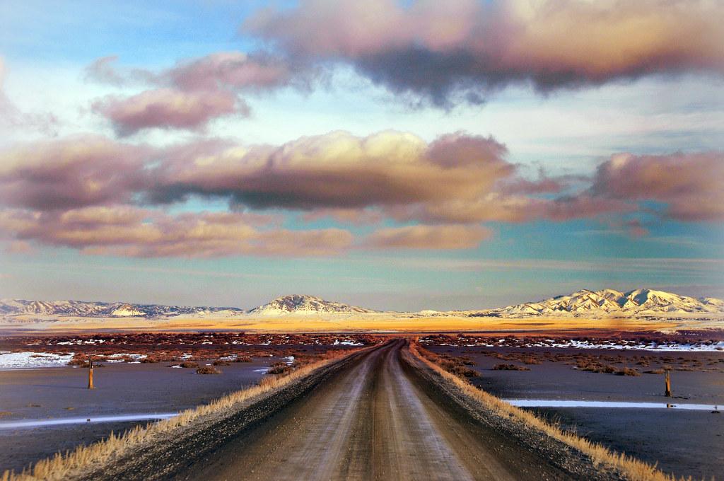 road near salt creek wma