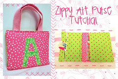 Zippy Art Purse Tutorial