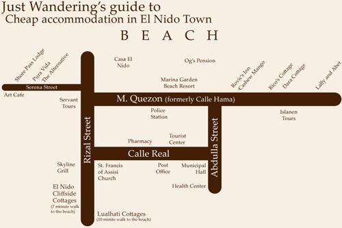 El Nido Maps