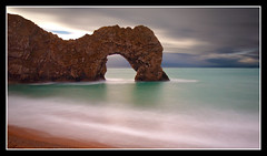 1/2 a minute at Durdle Door (Antony....) Tags: door uk longexposure england beach geotagged sand rocks waves arch dorset durdle durdledoor nd110 superaplus aplusphoto geo:lat=50622133 geo:lon=2278526