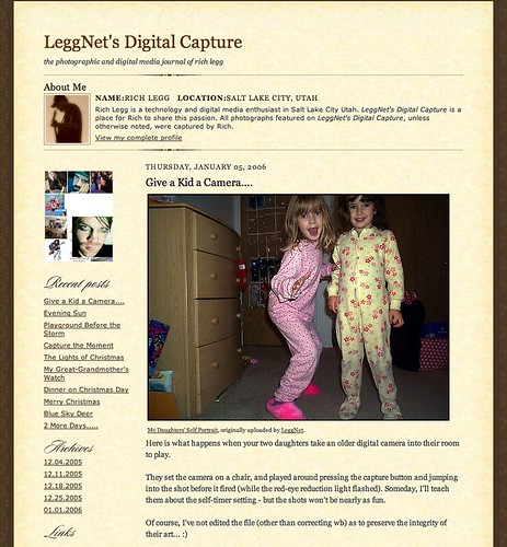 The original LeggNet.com template.