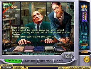 free Wall St Fever gamble bonus game