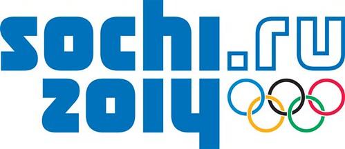 Das digitale Logo der Olympischen Winterspiele in Sotschi 2014