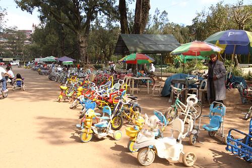Burnham Park Bicycle Rental