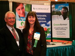 Green chemistry and eco-friendly news and information from Earthwise- Albemarle's Earthwise team spoke at the Global Plastics Environmental Conference (GPEC)