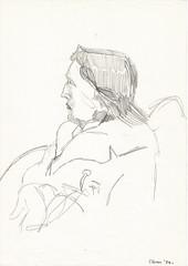 OSCAR WILDE (Narolc) Tags: portrait bw pencil paper flickr drawing oscarwilde visual visualart linear sparklingheart sharingart narolc
