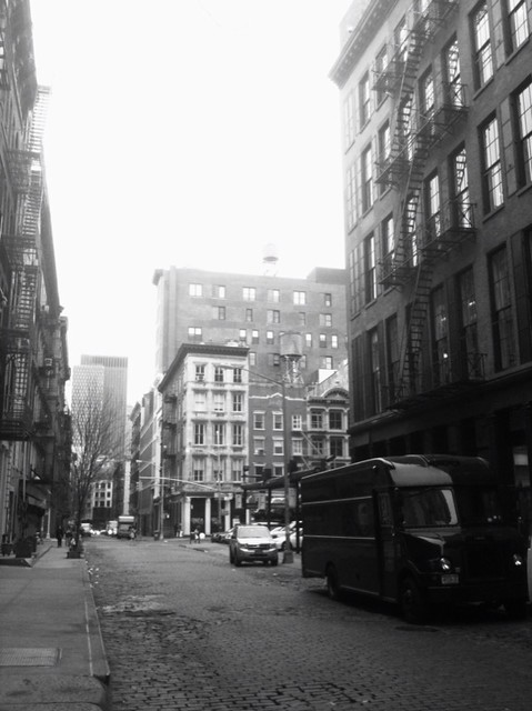 last Thursday #walkingtoworktoday on Crosby St