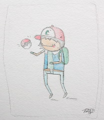 ash ketchum (ROCCO THEGREAT) Tags: color water ball brother poke pokemon ash rocco ketchum thegreat