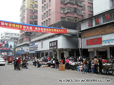 On the street of Puning