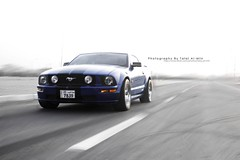 (Talal Al-Mtn) Tags: blue red car canon automobile shot automotive kuwait rims v8 talal mustanggt q8 kwt canon450d bluemustang  lm10 inkuwait almtn talalalmtn  bytalalalmtn photographybytalalalmtn