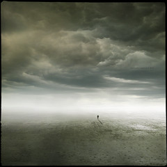 The Essence Of Dreams (Midnight - Digital) Tags: light clouds weird alone loneliness surrealism horizon wide eerie dreams vast desolated