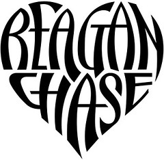 """Reagan"" & ""Chase"" Heart Design"