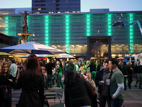 St Patricks on Fountain Square