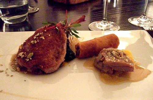 5-spiced duck main at Texture