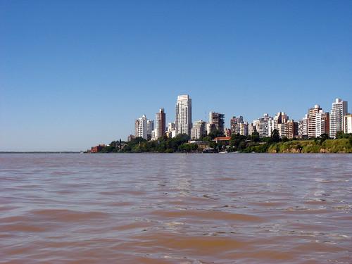 Rosario desde el Rio Parana por Agent 1994, en Flickr