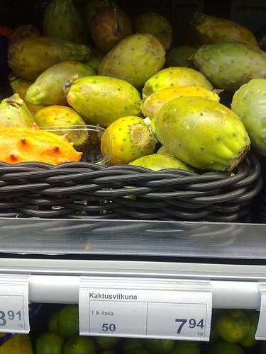 Tunas a más de 140 pesos el kilo