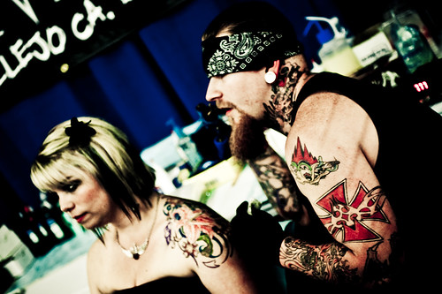 Tattoo Expo : great colored tattoos