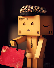 ({}) Tags: sunlight hat shopping bag holding amazon amazoncom aisha carrying shoppingbag march10 danbo amazoncojp bwhat spentalotofmoney danboard thanx3 backfromourshoppingday boughtalotofthings samsdanbo danboenjoyedhisshoppingday belongstoshfshf