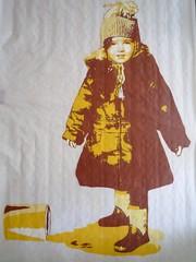 Oups... (nder) Tags: street urban streetart paris france art de calle stencil europe paint strada arte drawing ile dessin peinture canvas di urbana tableau rue franais array urbain artiste pochoir ender