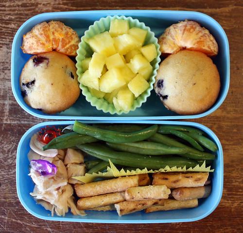 Kindergarten Bento #306: March 24, 2010