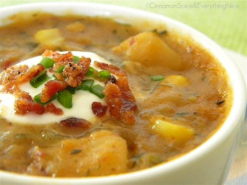 Chipotle Corn & Potato Chowder