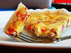 mexican cheese and bacon quiche tart - 44