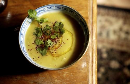 FAVA (thick pea soup)