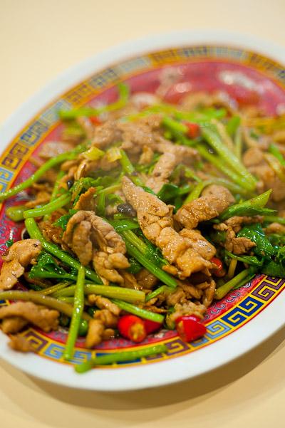 Stir-fried goat, Tang Jua Lee, Bangkok