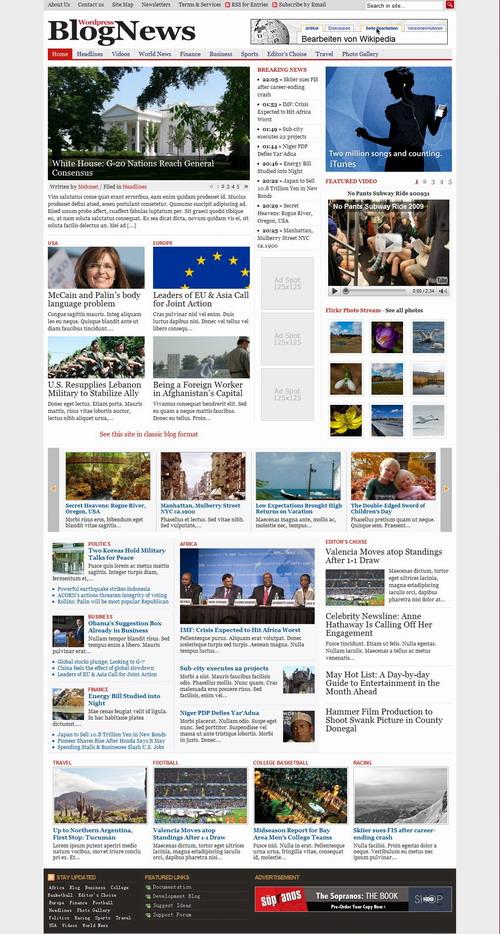 BlogNews   Gabfire Premium Wordpress Theme