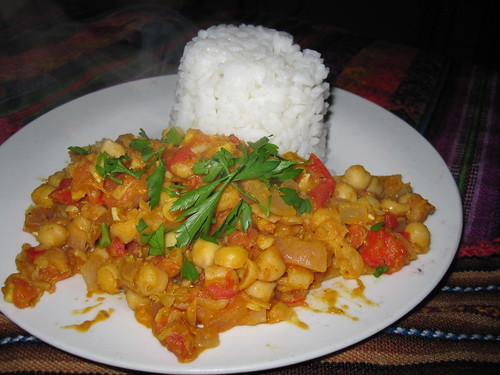 John's Chickpea Curry