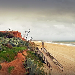 (pixel_unikat) Tags: beach portugal holidays filter coastline agave algarve textured 500x500 vanagram