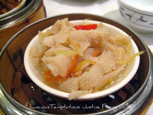 Steamed Tripe - New World, Chinatown