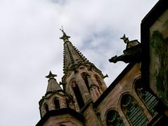 HPIM5043 (enazul) Tags: naturaleza blanco arquitectura arte y negro iglesias fotografia cuidad gargolas aficionado artstica